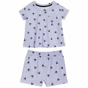 🔥 Disney Kids 2-Piece PJ Set - Minnie